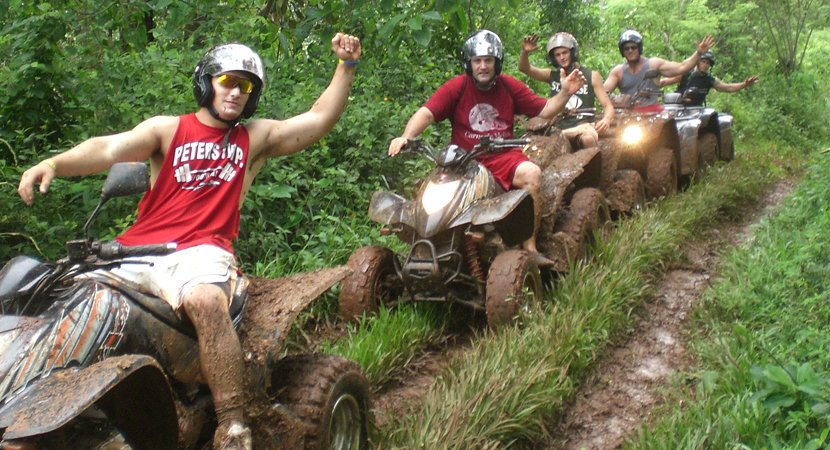 Costa Rica Jaco Tours, Costa Rica Jaco ATV Tours, ATV Tours Jaco, Jaco Costa Rica, Full Day Extreme Ride ATV Tour Jaco Costa Rica