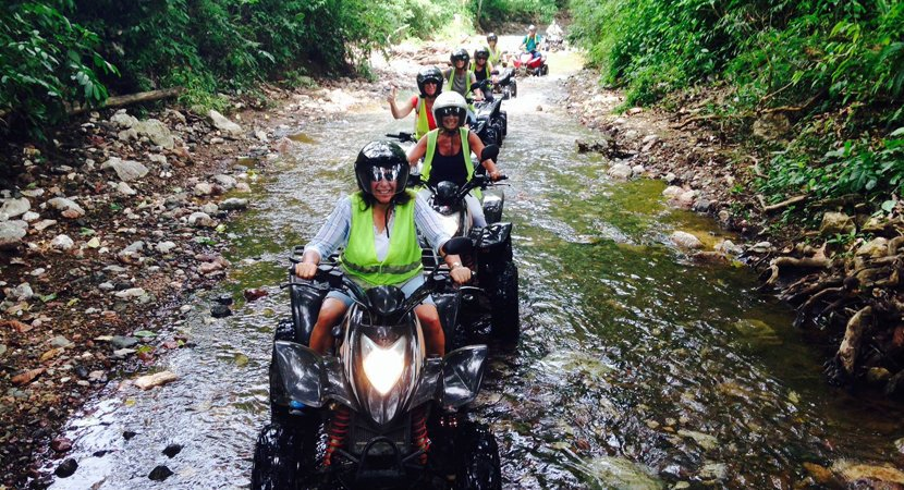Costa Rica Jaco Tours, Costa Rica Jaco ATV Tours, ATV Tours Jaco, Jaco Costa Rica, Rainforest Express 1 Hour ATV Tour Jaco Costa Rica