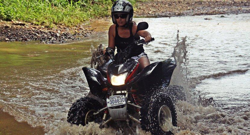 Costa Rica Jaco Tours, Costa Rica Jaco ATV Tours, ATV Tours Jaco, Jaco Costa Rica, Waterfall Jumper 3 Hours ATV Tour Jaco Costa Rica