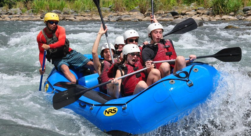 White Water Rafting Jaco Costa Rica, AXR An Xtreme Rider Jaco.