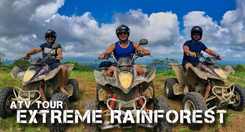 ATV Extreme Rain forest tour image