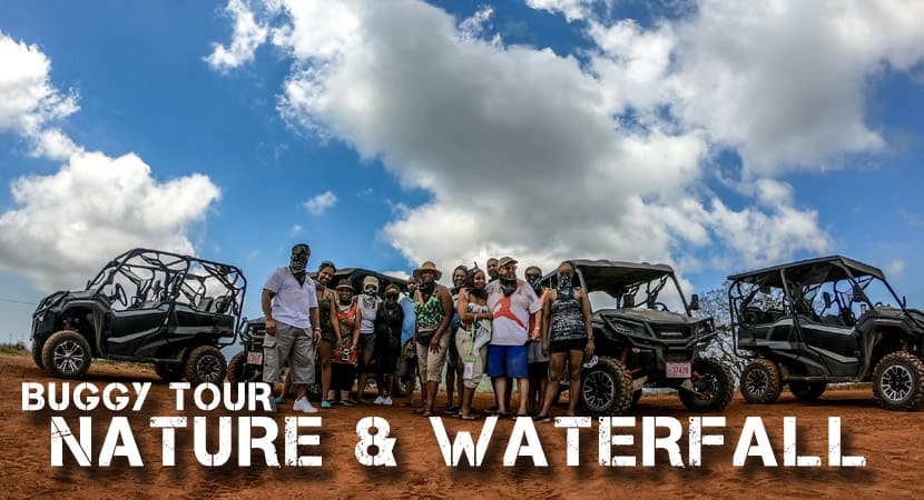 "Nature & Waterfall Tour Jaco Costa Rica, Guided Buggy tour. AXR ""An Xtreme Rider"" Jaco Costa Rica"