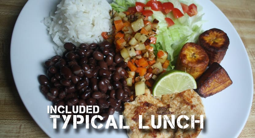 Costa Rican Casado, Typical Food of Costa Rica, Costa Rica Jaco Food