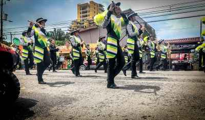 Audition of Bands Guanacaste, Puntarenas, & Alajuela. Parade October 2019 in Jaco Costa Rica. Jaco beach Costa Rica, Playa Jaco, AXR Jaco,