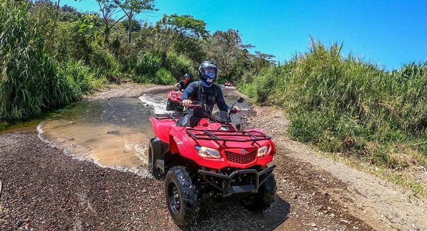 Costa Rica Jaco Tours, Costa Rica Jaco ATV Tours, ATV Tours Jaco, Jaco Costa Rica, Rainforest Express 1 Hour ATV Tour Jaco Costa Rica