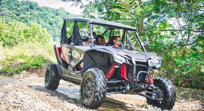 Honda Talon 1000X Costa Rica, Side by Side Tours Jaco Costa Rica, AXR